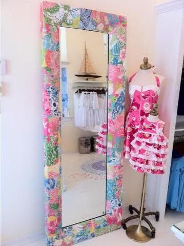 Lilly Pulitzer Mirror Oh My You Could Paint Prints Or