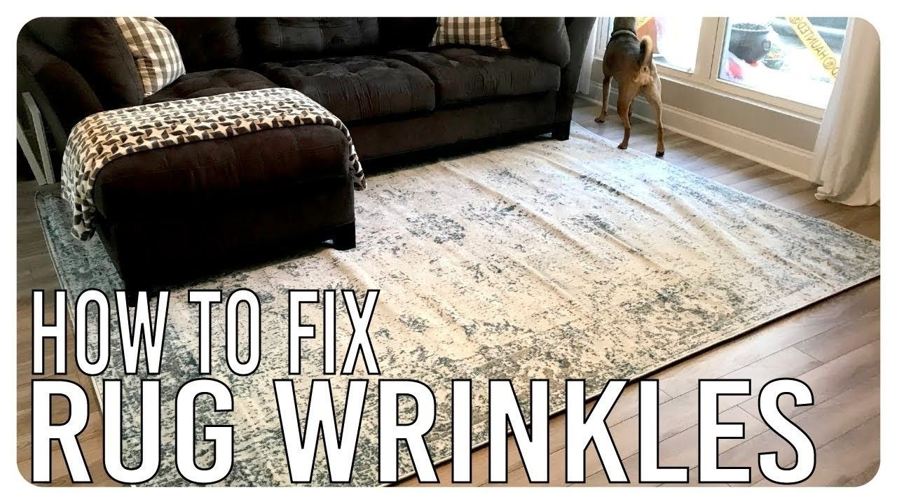 How To Flatten A Rug Rugs Rugs On Carpet Diy Rug