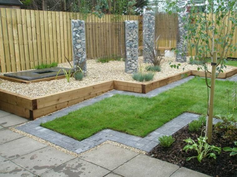 Idee Bordure Jardin Recup. Idee Deco Jardin Exterieur With Idee ...