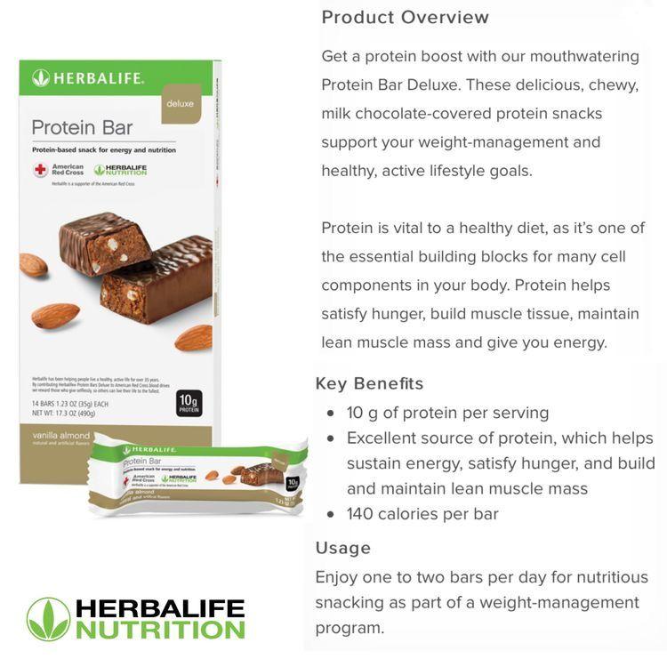 Vanilla Almond Bar In 2020 Herbalife Nutrition Facts Herbalife Herbalife Nutrition
