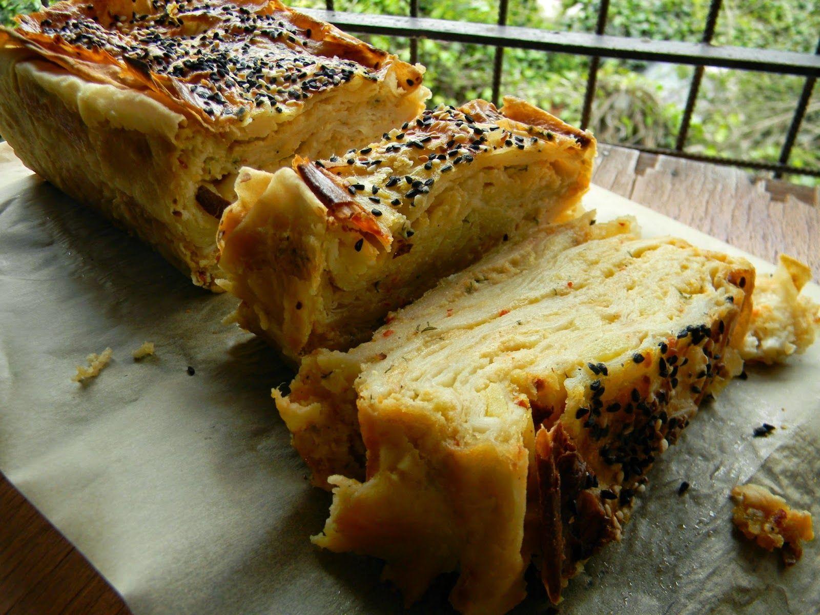 Baton Kalıpta Patatesli Börek | Vişnap