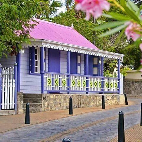 Regrann From Hoopjehout Purple Chattel House In St