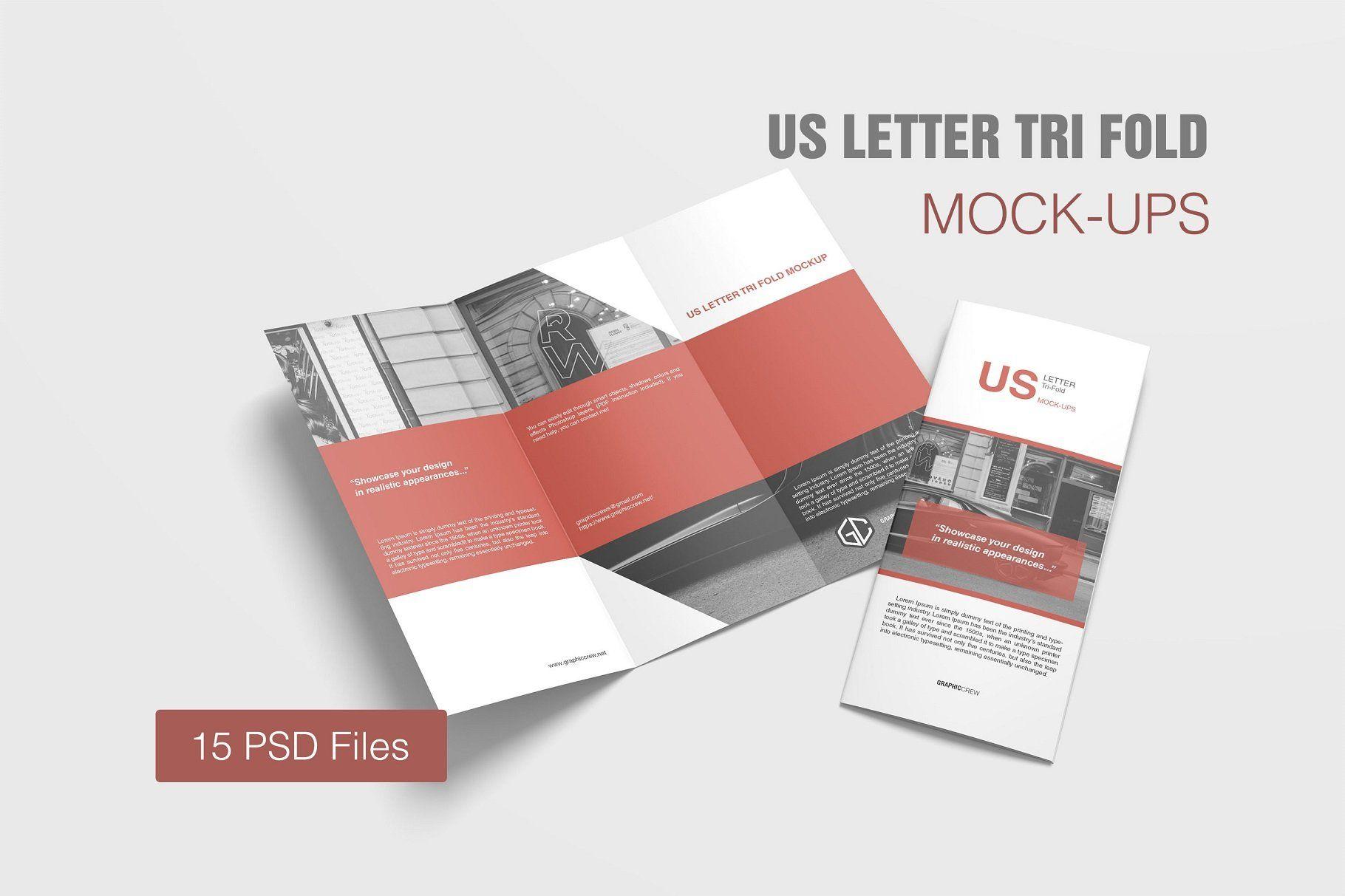 Us Letter Tri Fold Mockup Design Mockup Free Free Packaging Mockup Mockup