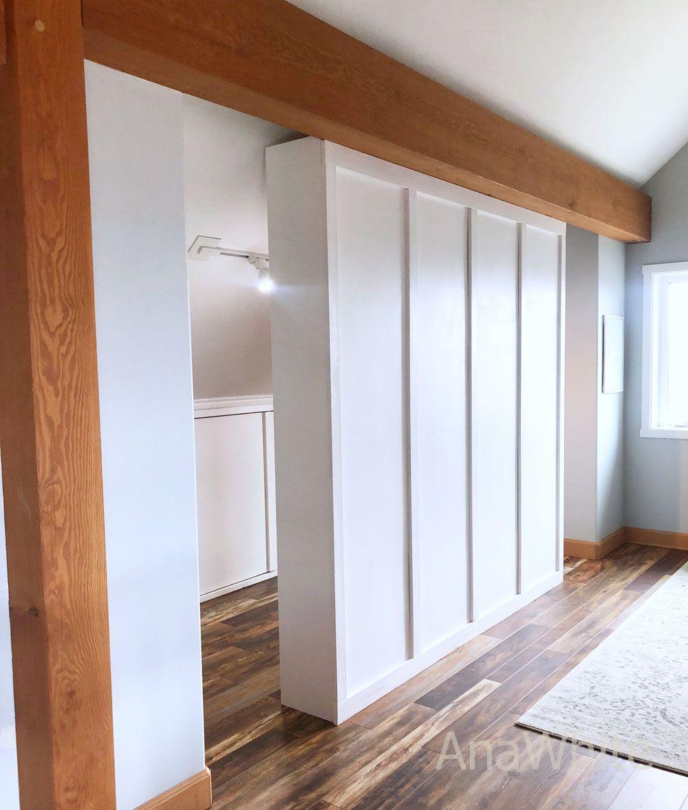 Room Divider Closet | Ana White #anawhite