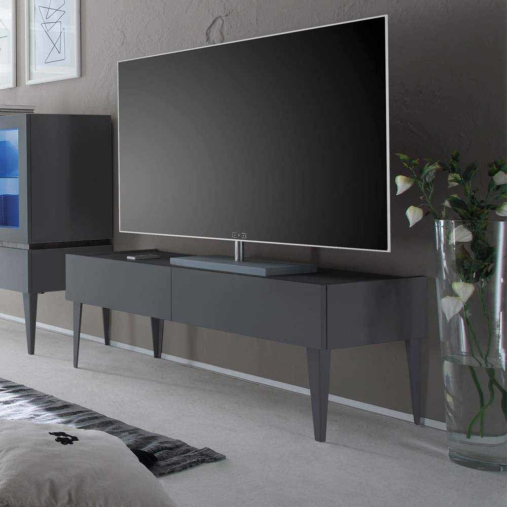 tv tisch in anthrazit 50 cm hoch jetzt bestellen unter. Black Bedroom Furniture Sets. Home Design Ideas