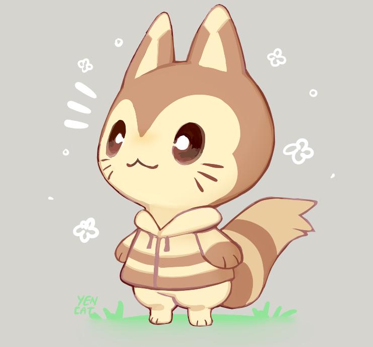 Yencat Hanami On Animal Crossing Fan Art Animal Crossing