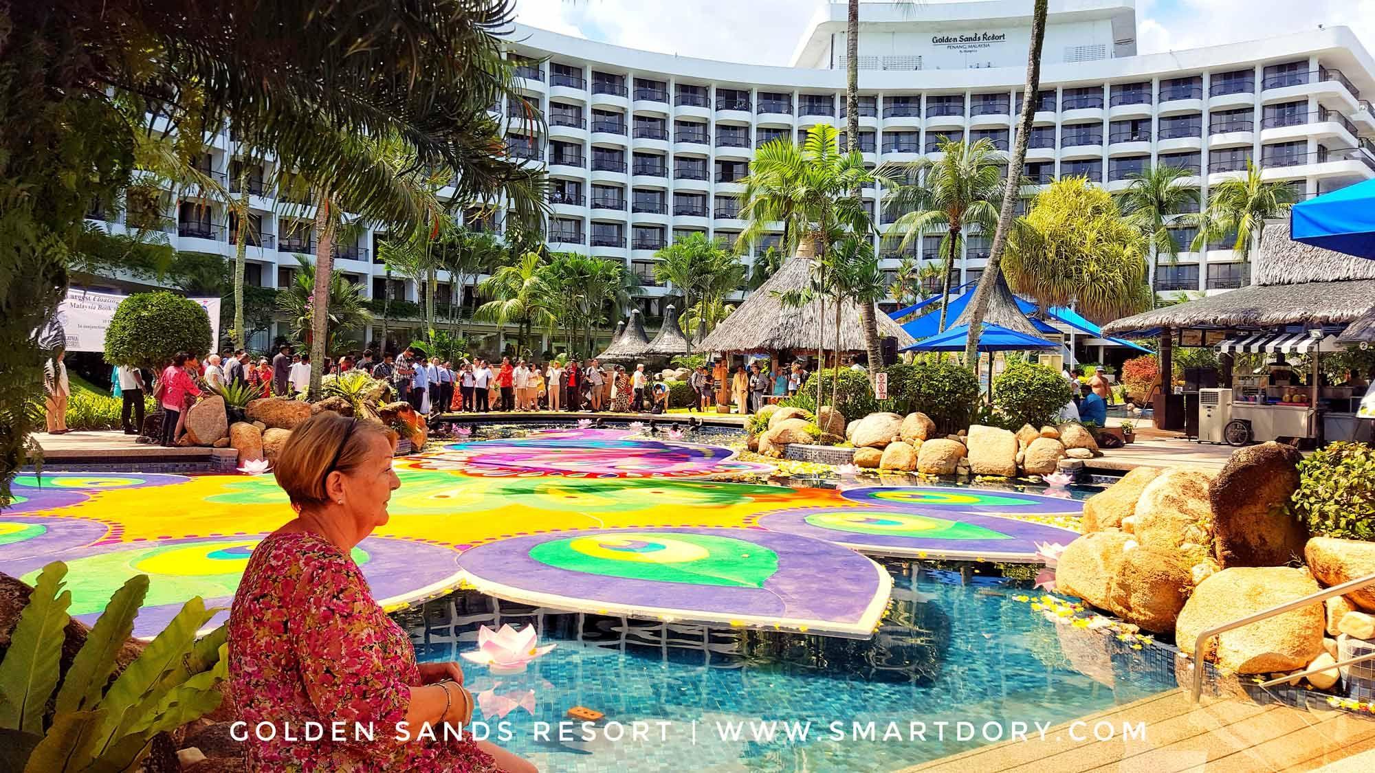 Biggest Floating Kolam Artwork Golden Sands Resort Penang Sands Resort Resort Penang