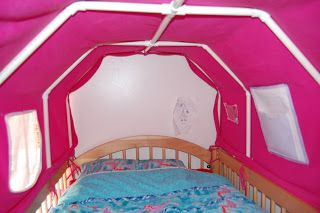 Pictures Of The Top Bunk Bed Tent And Paltry Instructions Bed