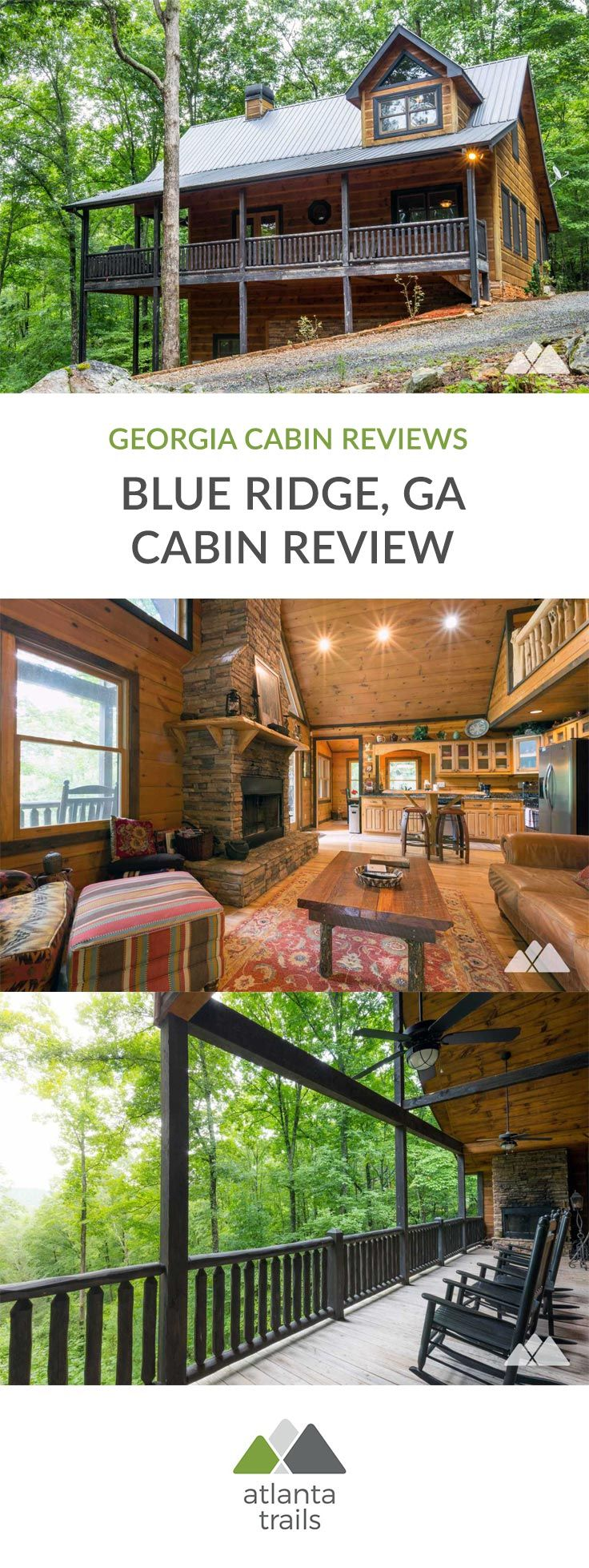 Southern Comfort Cabin Rentals review: Hawks Ridge in Blue