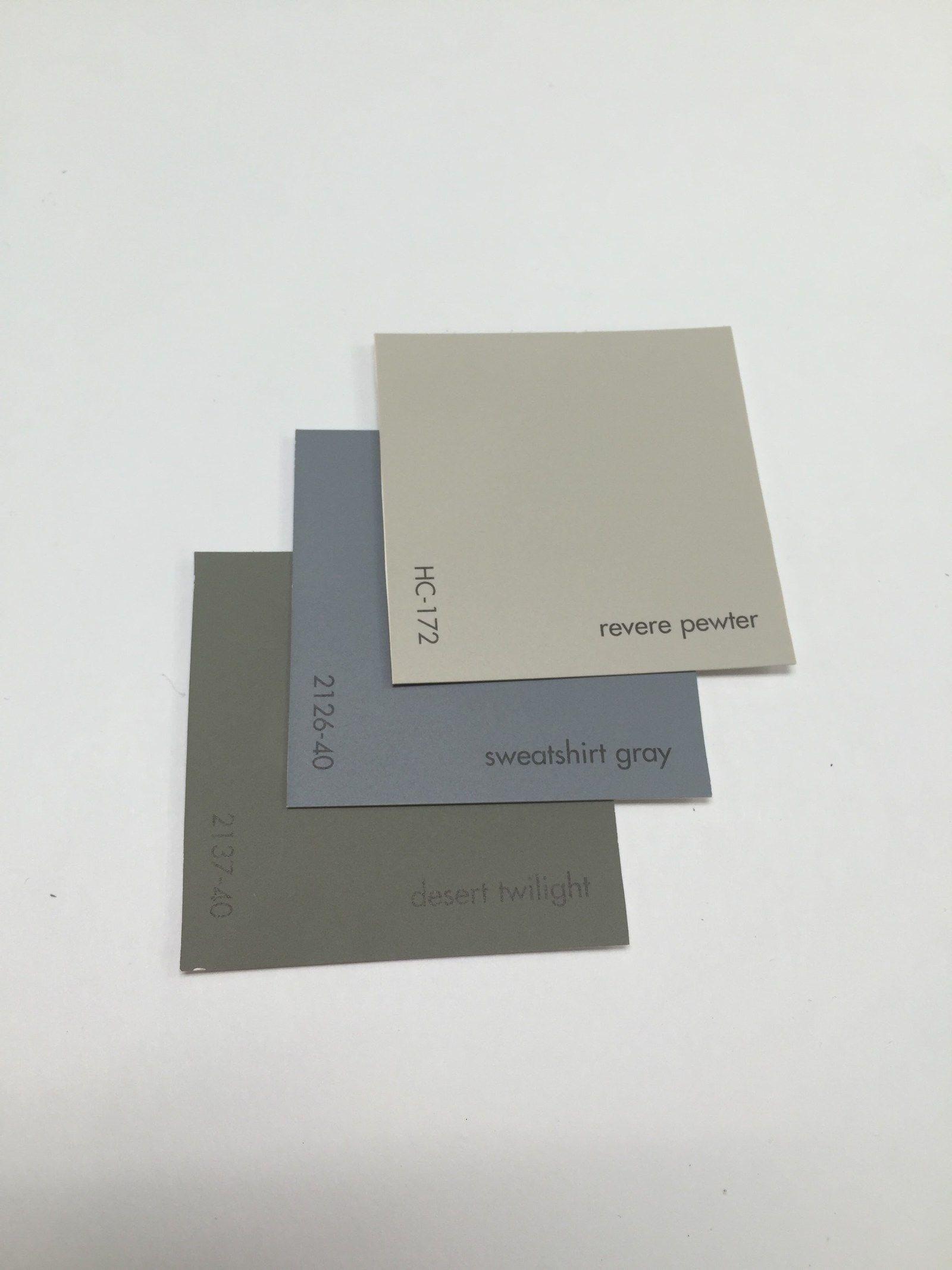 Benjamin Moore Timeless Neutrals Paint Color Schemes