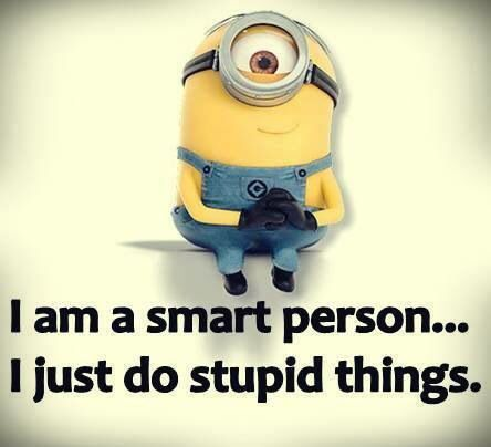 When Stupid People Do Smart Things.