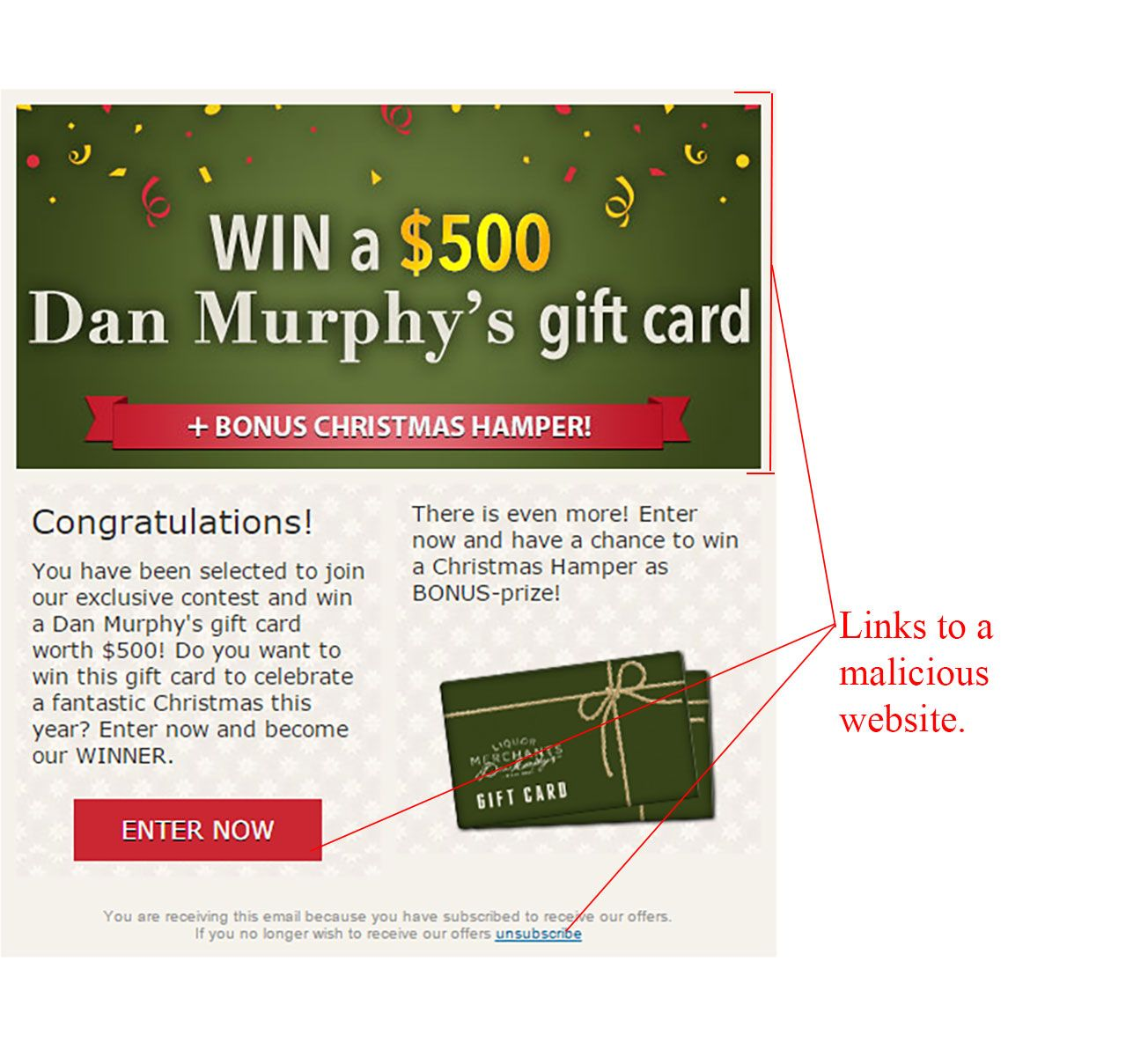 Win a 500 dan murphys gift card scam negle Image collections