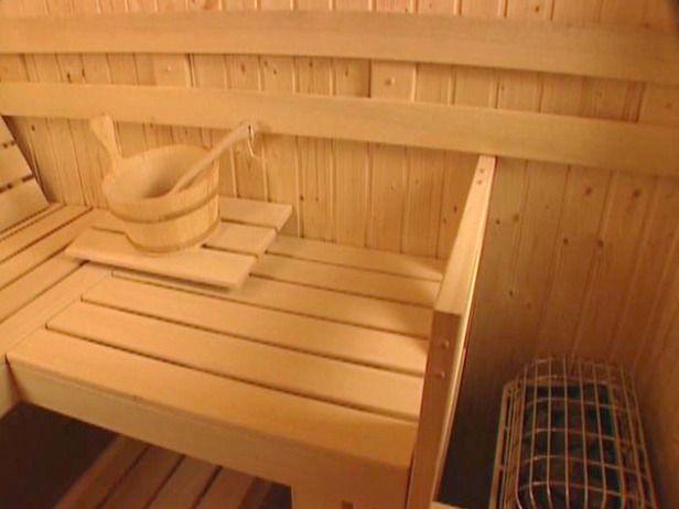 building indoor sauna | For The House | Pinterest | Indoor sauna ...