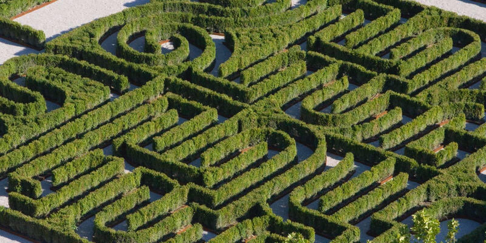 Randoll coate labirinto borges nell isola di san giorgio for Giardino labirinto