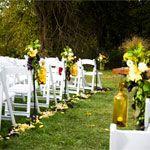 Yellow Summer wedding!