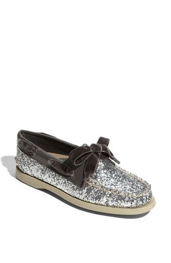 8bb0944f15dc Sperry Top-Sider® 'Authentic Original Glitter' Boat Shoe. $89.95. Perfect  way to jazz up an outfit