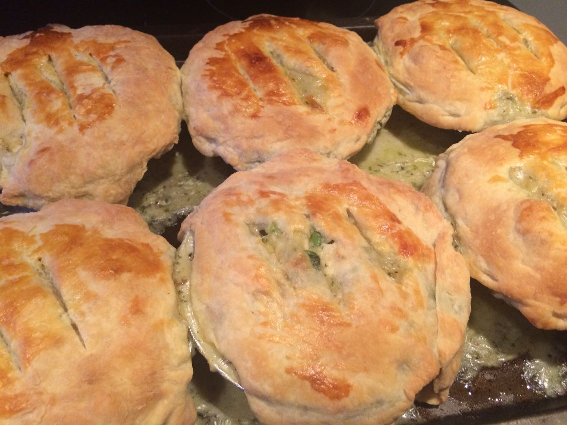 Ina Garten Chicken Pot Pie make it ahead ina garten - chicken pot pies | a clutz's guide to
