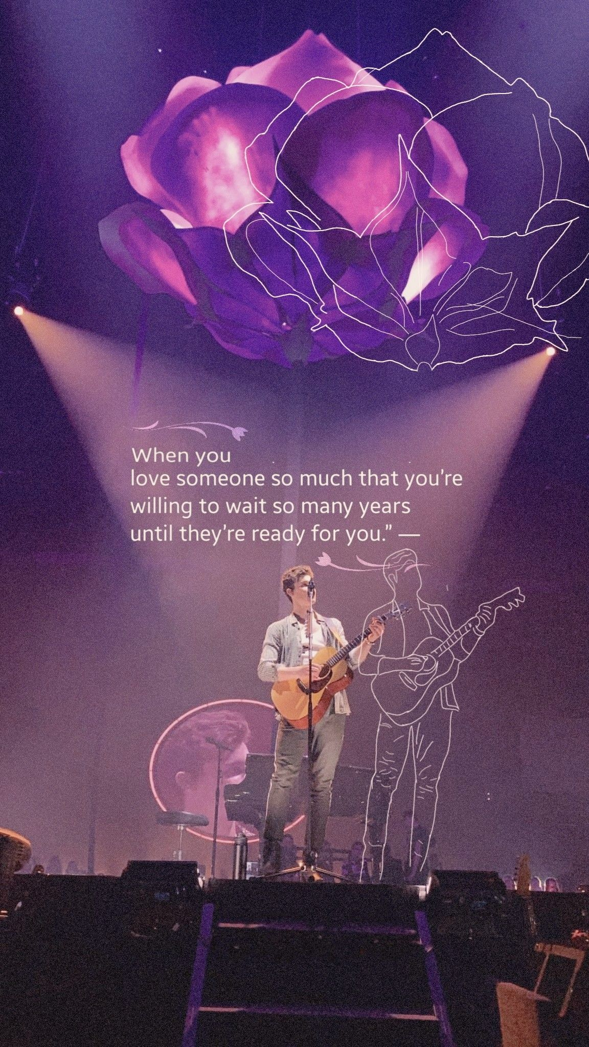 Shawn Mendes Wallpaper 🌸❤️🌸 #shawnmendes #shawnmendeswallpaper #wallpaper #music #love #passion #guitarboy #quotes