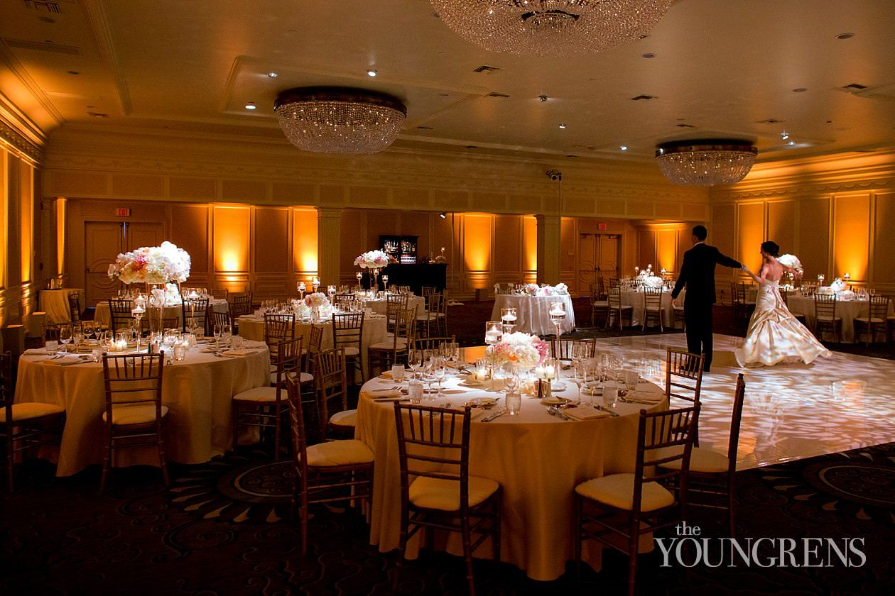 Elegant Black Tie Reception At Fairmont Miramar Hotel Wedding Photography By The Youngrens View