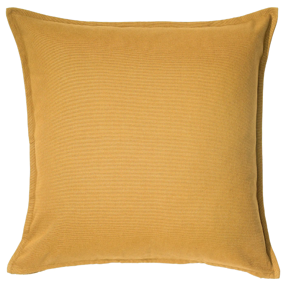 GURLI Cushion cover, goldenyellow, 50x50 cm IKEA