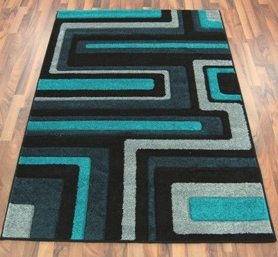 Grey and Teal Rug New Living Room records retro teal