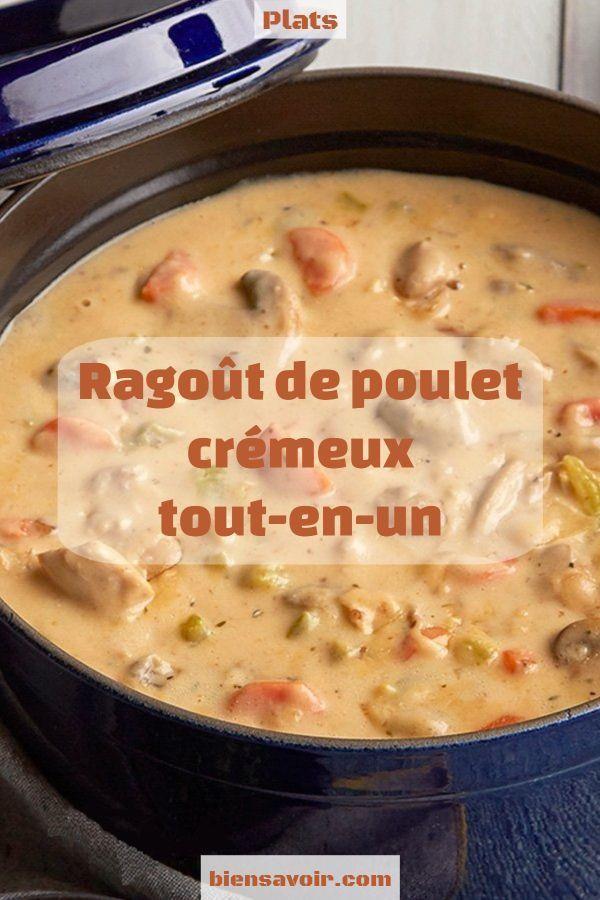 Photo of Creamy All-in-One Chicken Stew – # Creamy # # Chicken-Stew …