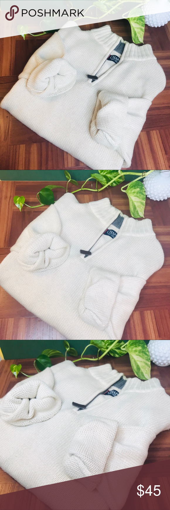 vtg vsco 90s oversized boyfriend pullover vtg vsco 90s oversized boyfriend pullover  • Tags say large but would fit a medium or small nicely as an o...