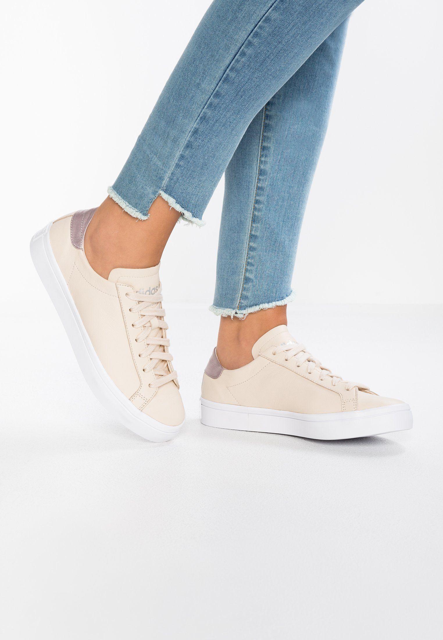 8ffb0eb874287 adidas Originals COURTVANTAGE - EXCLUSIVE - Sneakersy niskie - vapour  grey/footwear white - Zalando.pl