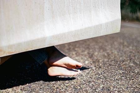 Photo of A day Car Door Car Sunlight Travel Road Foot One Person Sunlight Human Leg Shado…