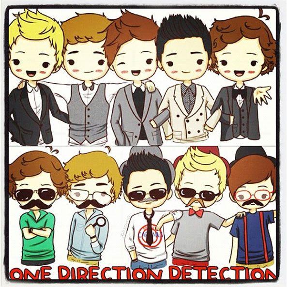 Lindo Y Facil De Dibujar Dibujos Animados Dibujos De One Direction Dibujos Fáciles