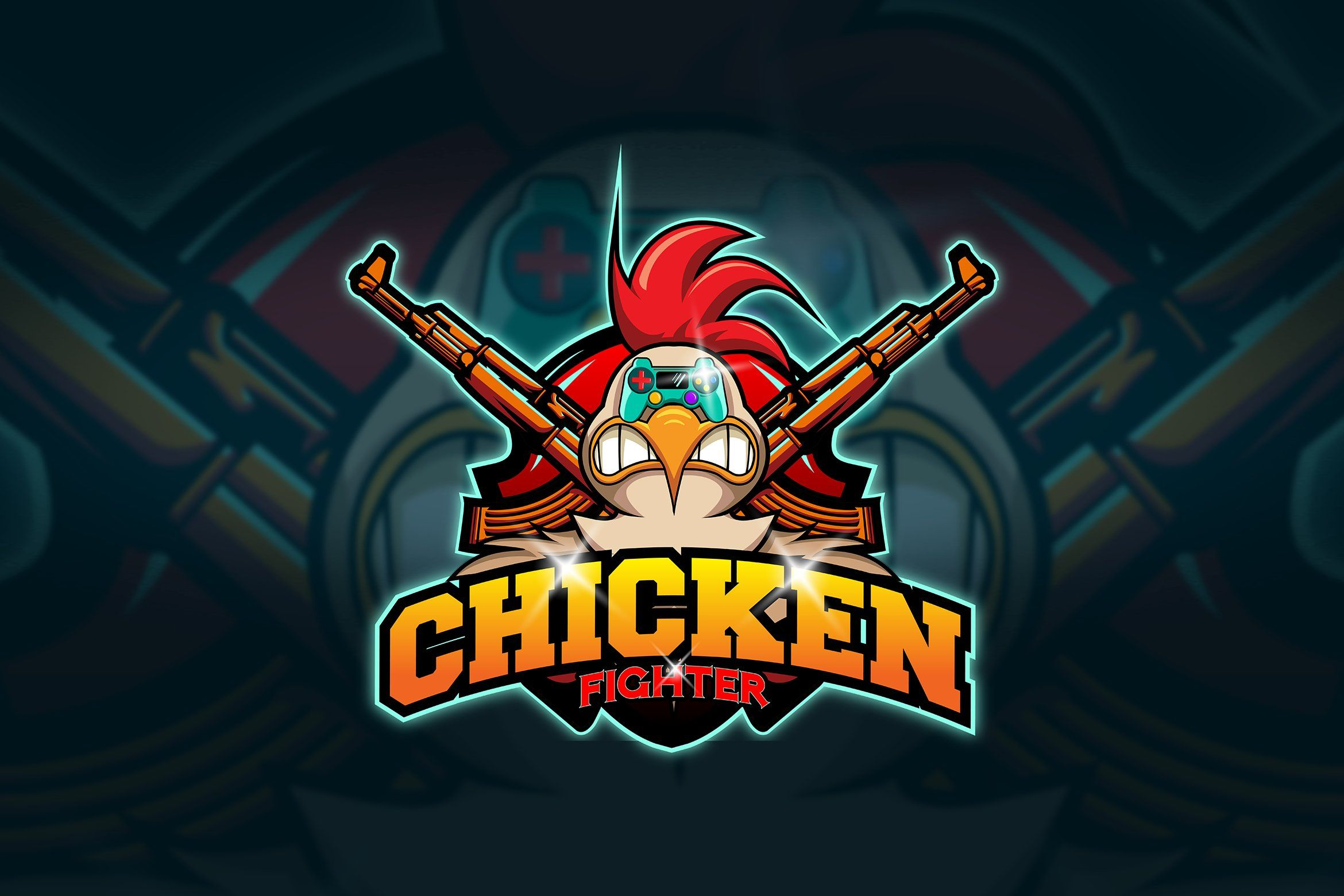Chicken Mascot Esport Logo In 2020 Logos Mascot Chicken Logo