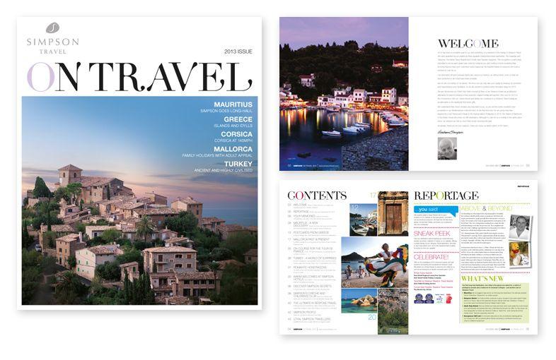 traveling brochures