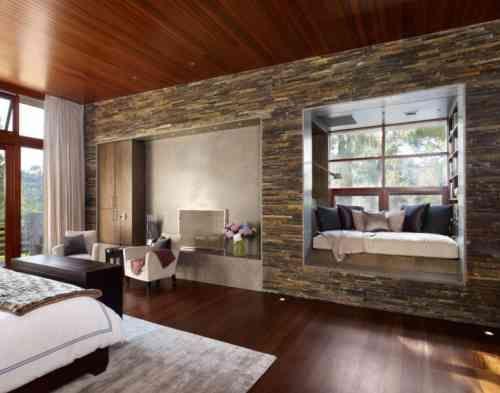Le mur de pierre intérieur - 25 idées de design original à ...