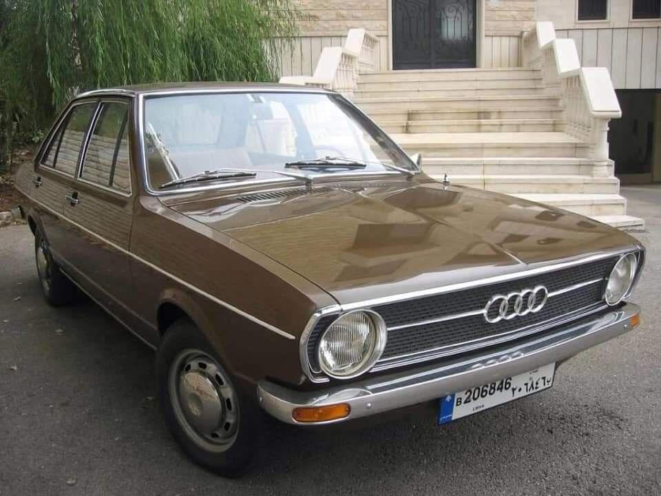 1974 Audi 80, courtesy of Ms. Lina Saghir Facebook page ...