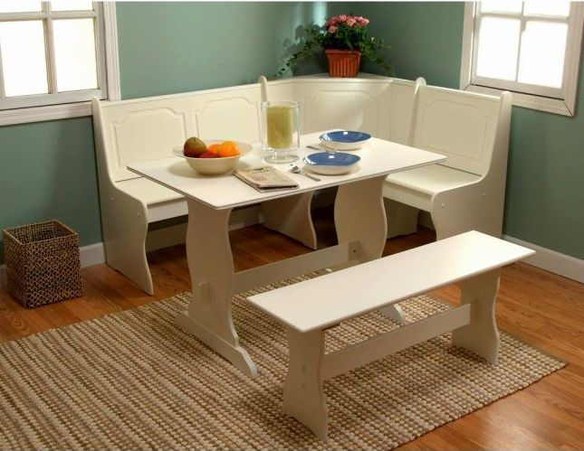 Kitchen Idea 4 Stunning Breakfast Nook Set Ikea