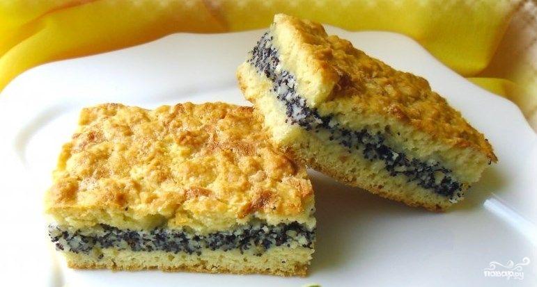 Рецепт тортов с маком и орехами