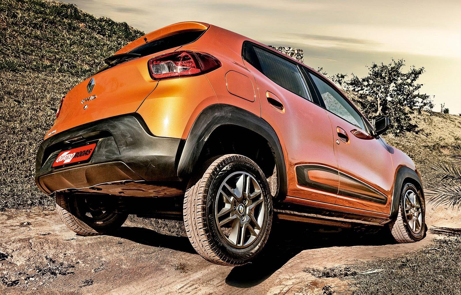 Teste Renault Kwid Jeep Renegade E Honda Wr V Caem Na Trilha
