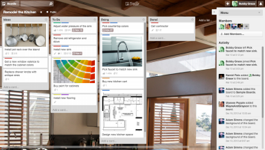 Trello Inc. Tools, Tool organization, Valences for windows