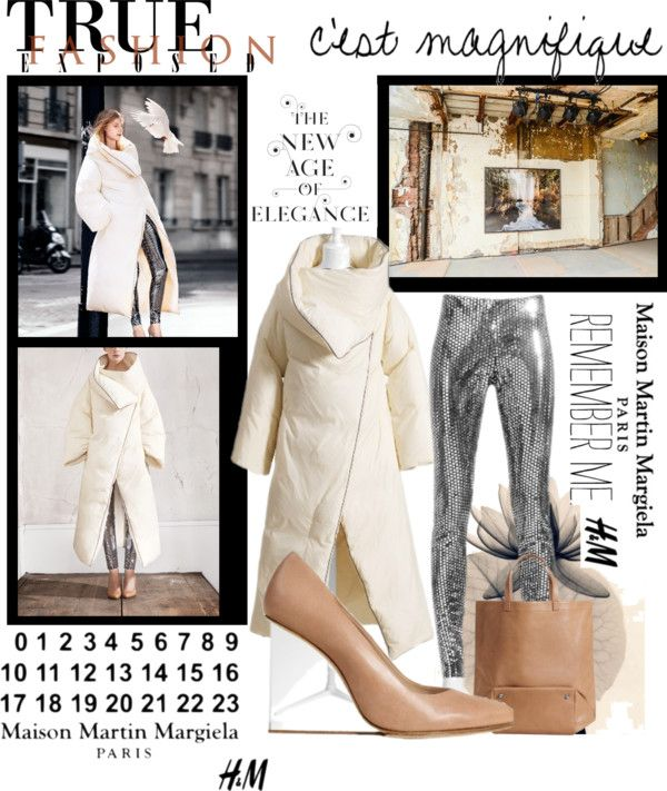 """""""Maison Martin Margiela with H"""" by marina-siouti ❤ liked on Polyvore"""