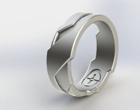 Click to view details for Halo/Tron Inspired Ring | Suits