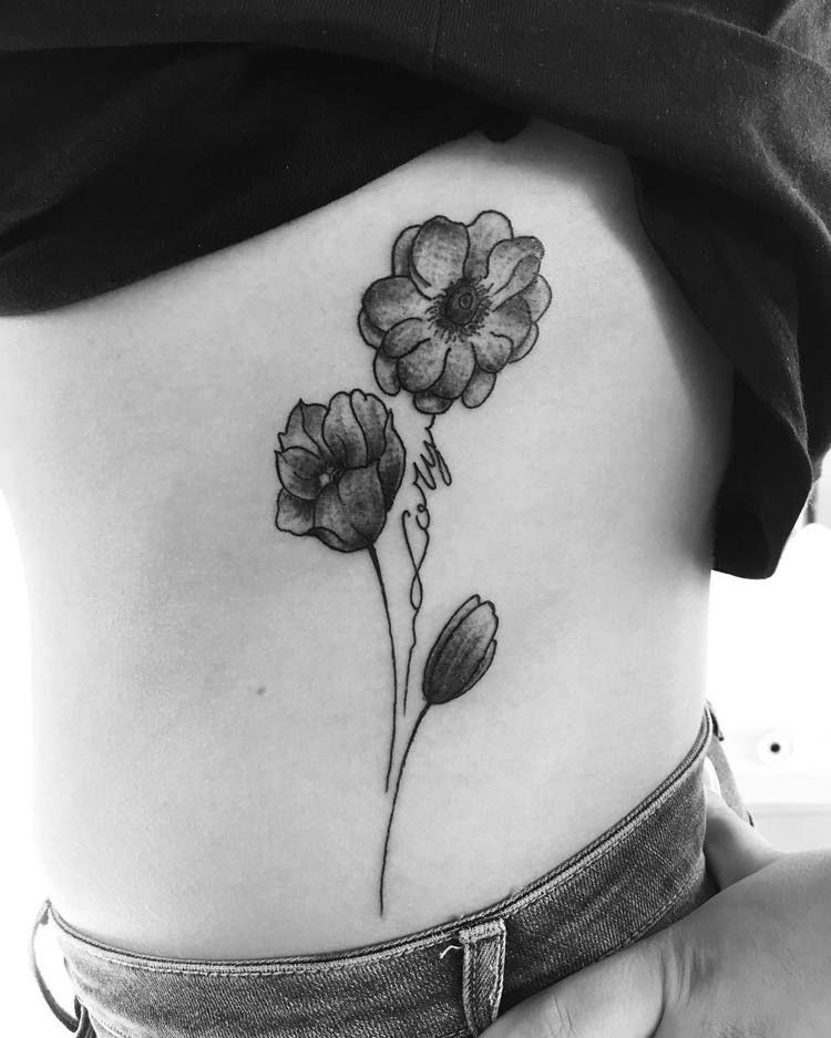 Anemone Tattoo : anemone, tattoo, Pretty, Anemone, Tattoo, Designs, Ideas, TattooAdore, Tattoo,, Tattoos,, Floral, Design
