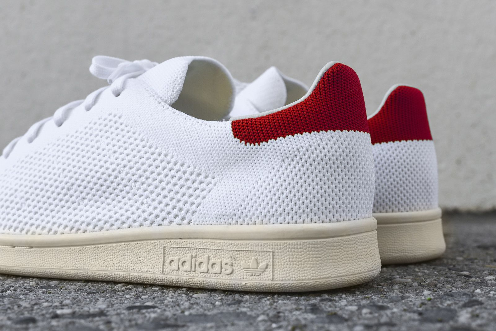 best service cbee7 6cce8 adidas Originals Stan Smith PK - White / Red | CLOTHING ...