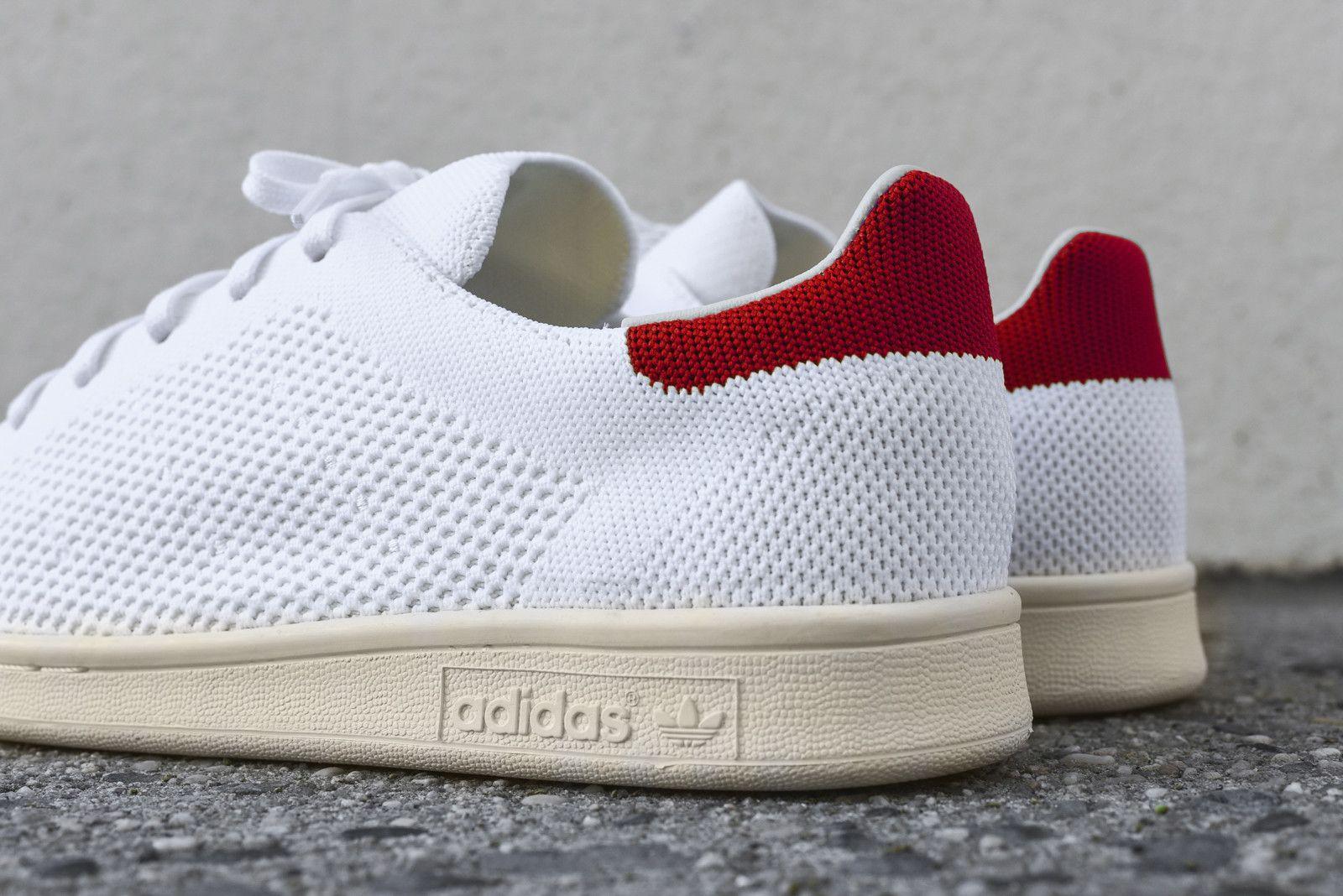 a991cf3c91a adidas Originals Stan Smith PK - White / Red | CLOTHING | Original ...