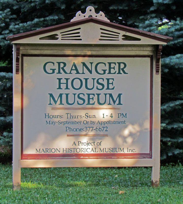 Granger House, Cedar Rapids, Iowa Travel Photos by Galen