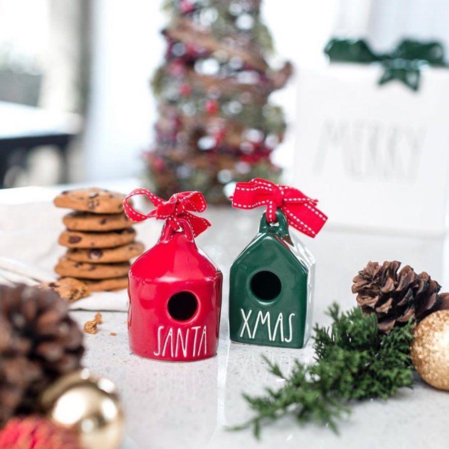 Rae Dunn New Releases Rae Dunn New Release Posted On Instagram Nmp New Christmas Birdhouse Ornaments Coming Soon Ph In 2020 Rae Dunn Birdhouse Ornaments Dunn