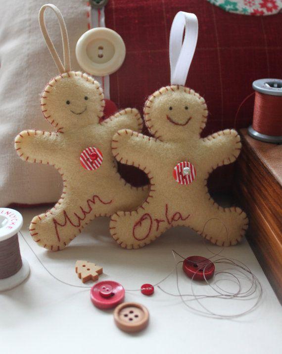 Gingerbread Man SALE PDF Sewing PATTERN by RedRockingBird on Etsy ...