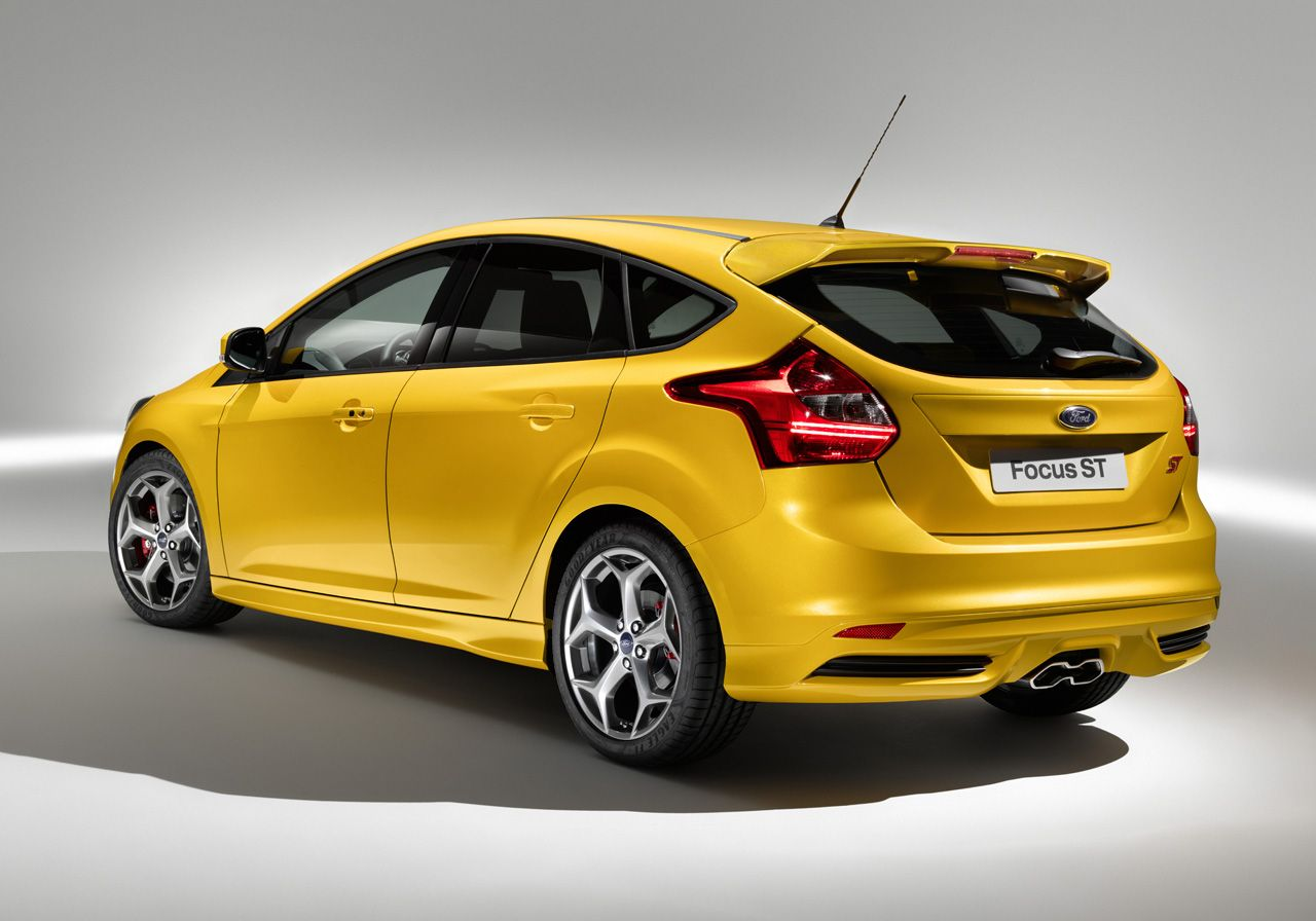 Ford Reveals Production 2012 Focus St Shows Off Euro Only Focus