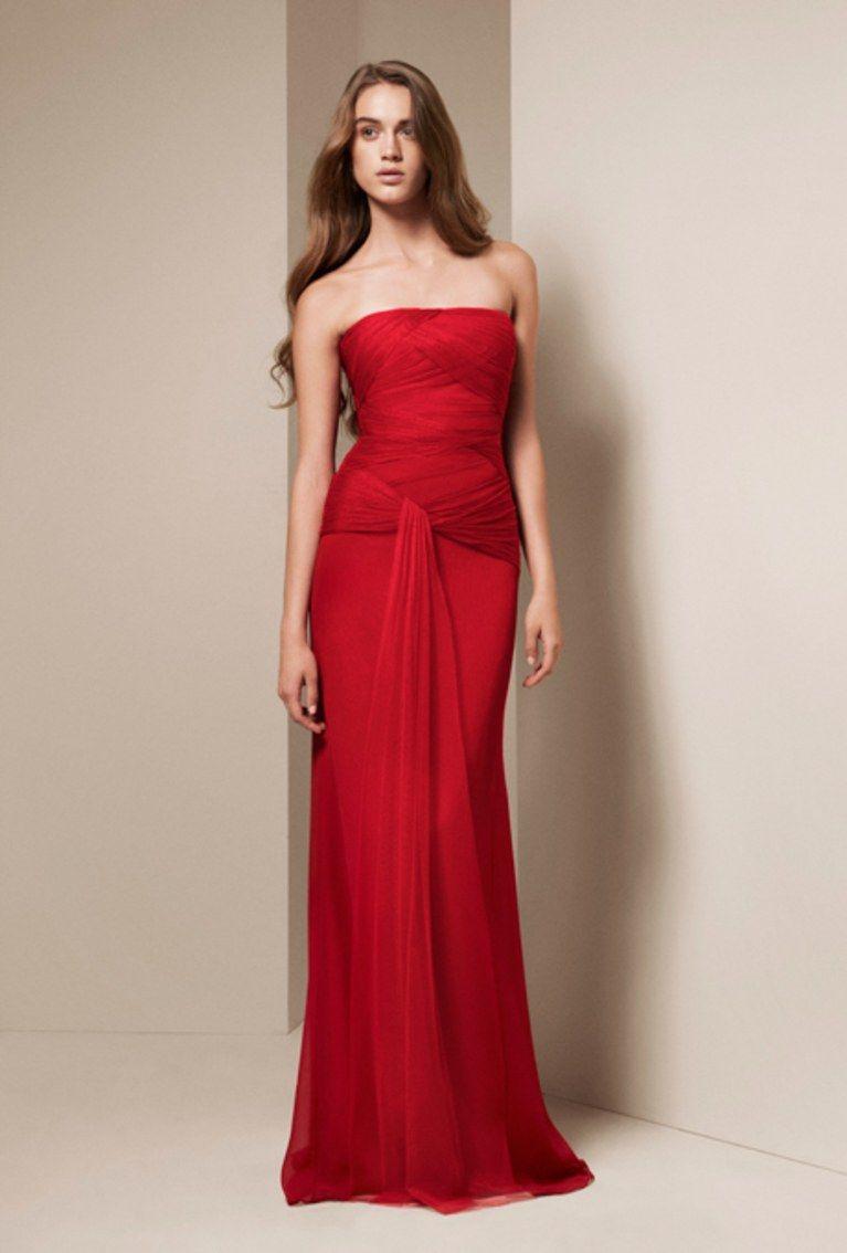 Red wedding dresses vera wang  bridesmaid dresses vera wang  Google Search  Bridesmaid dresses