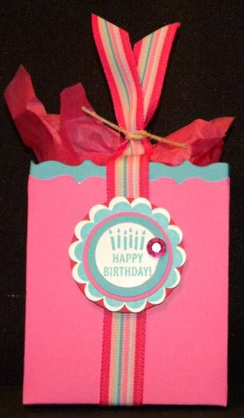 Birthday mini box