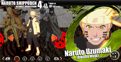 Download Mod Texture Naruto Shippuden Ultimate Ninja Storm 4 Ppsspp